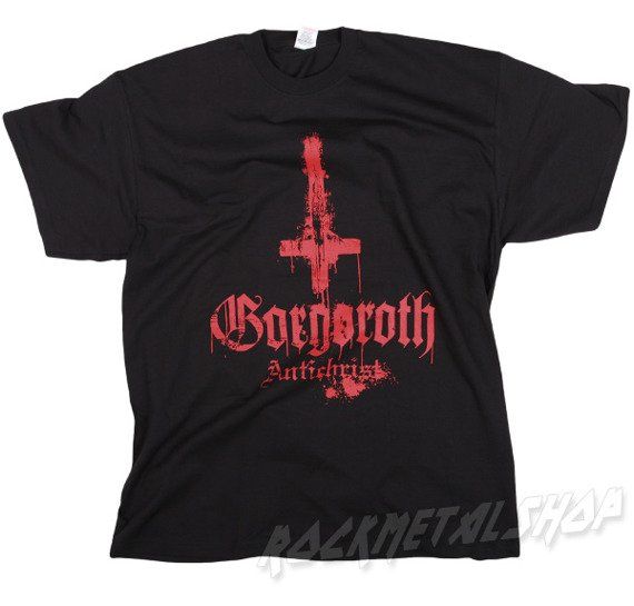 koszulka  GORGOROTH - ANTICHRIST RED