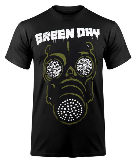 koszulka GREEN DAY - GREEN MASK