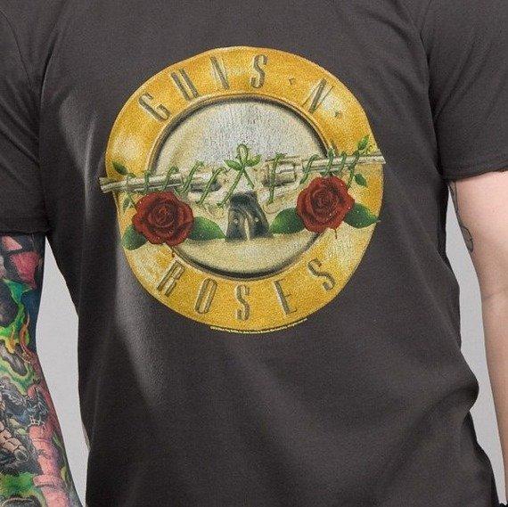 koszulka GUNS N' ROSES - DRUM szara