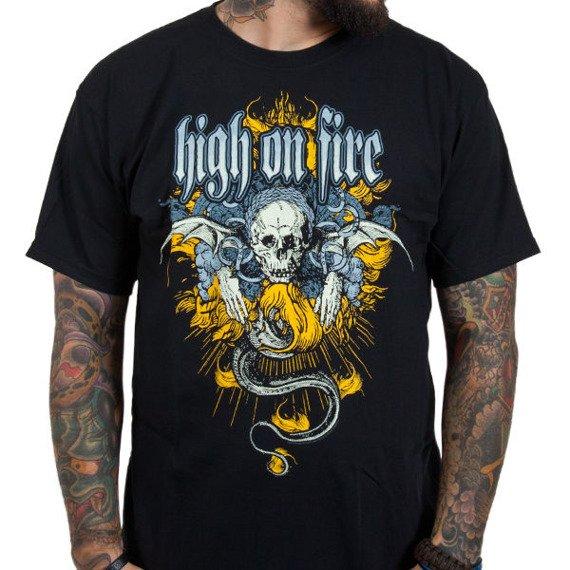 koszulka HIGH ON FIRE - CREST
