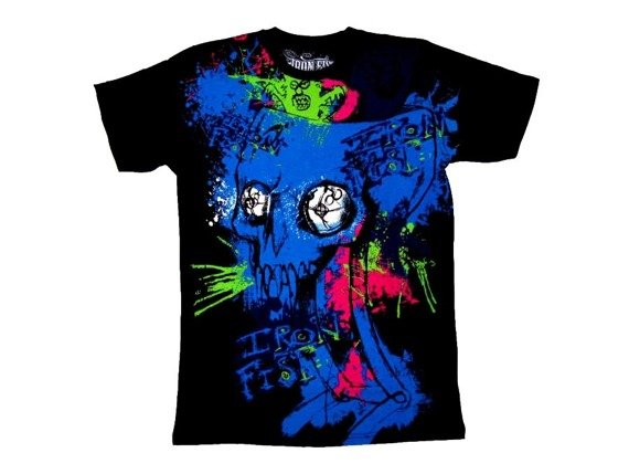 koszulka IRON FIST - BAD TRIP (BLACK)