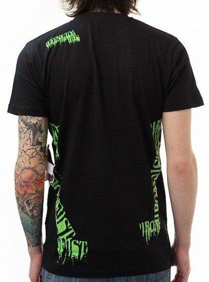 koszulka IRON FIST - QUEEN OF THE ZOMBIES (BLACK)