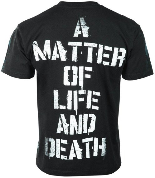 koszulka IRON MAIDEN - A MATTER OF LIFE AND DEATH