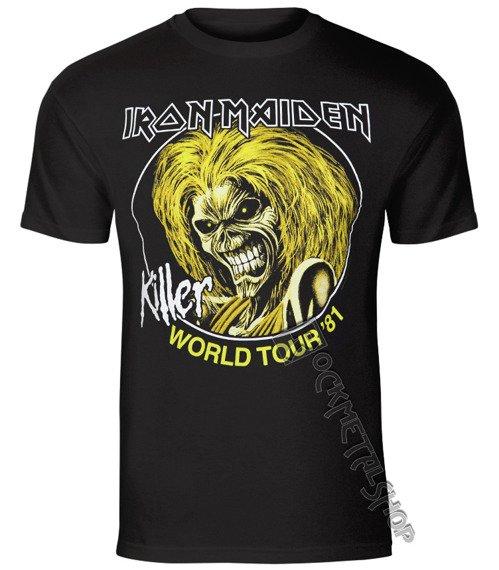 koszulka IRON MAIDEN - KILLER WORLD TOUR 81