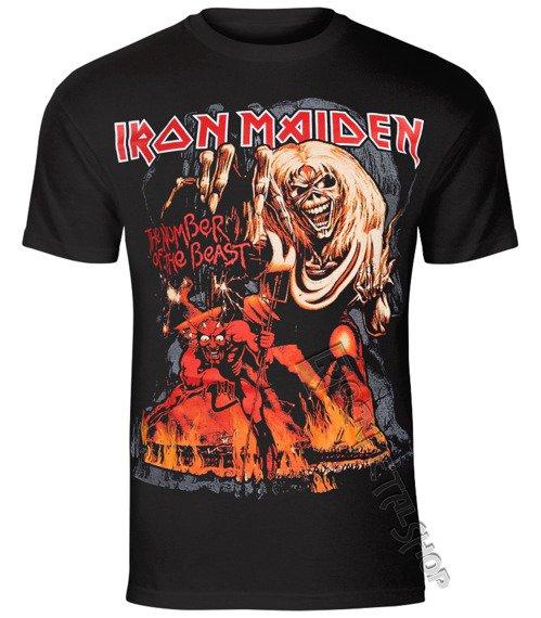 koszulka IRON MAIDEN - NUMBER OF THE BEAST