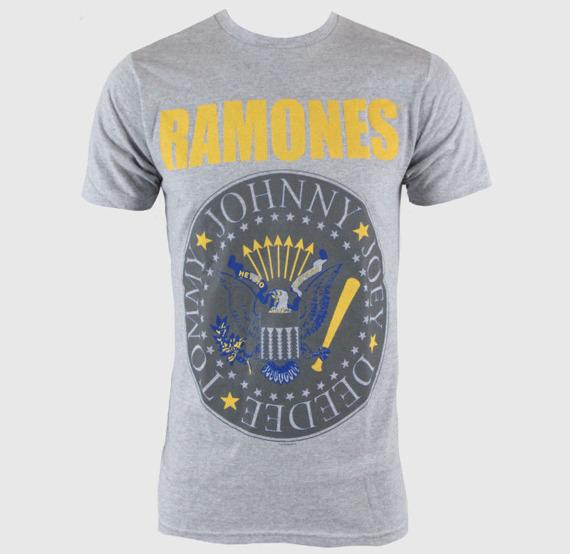 koszulka JOEY RAMONE - YELLOW AND BLUE SEAL