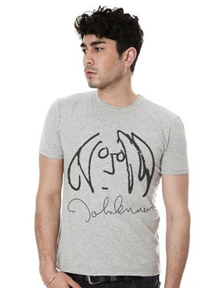 koszulka JOHN LENNON szary melanż