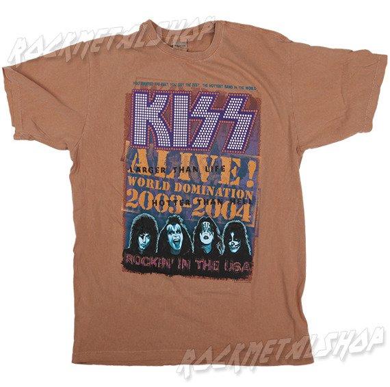 koszulka KISS - ALIVE WORLD DOMINATION