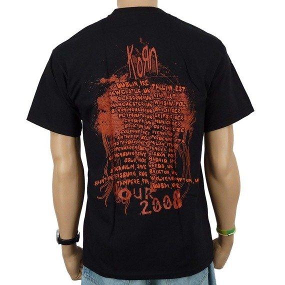 koszulka KORN - EVOLUTION FACES TOUR 2008