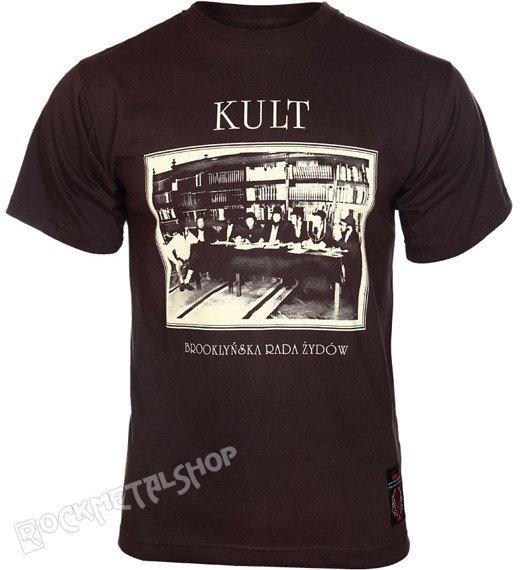 koszulka KULT - BROOKLYŃSKA RADA ŻYDÓW brązowa