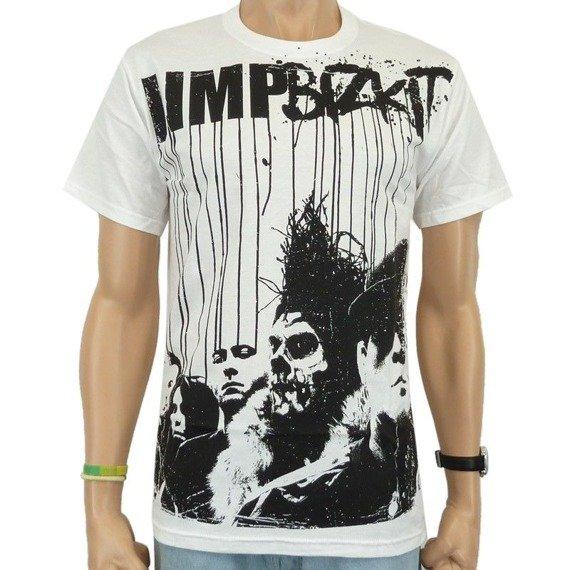 koszulka LIMP BIZKIT - BAND RUN (WHITE)
