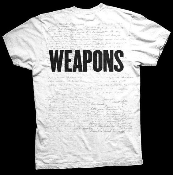 koszulka LOSTPROPHETS - WEAPONS ALBUM