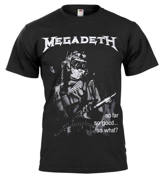 koszulka MEGADETH - SO FAR, SO GOOD... SO WHAT?