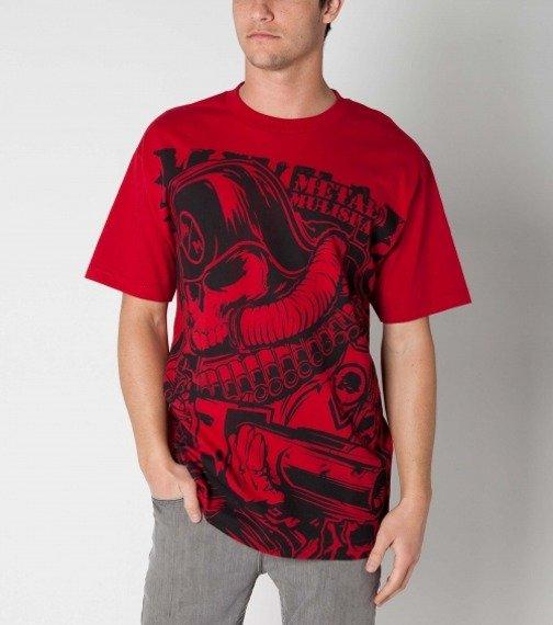 koszulka METAL MULISHA - INFANTRY czerwona