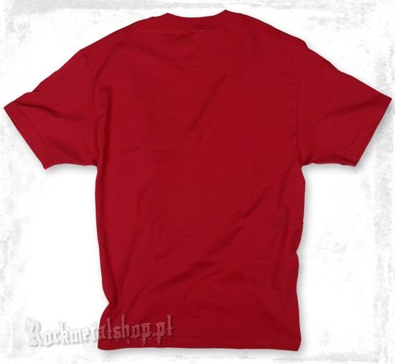 koszulka METAL MULISHA - MAIMED czerwona
