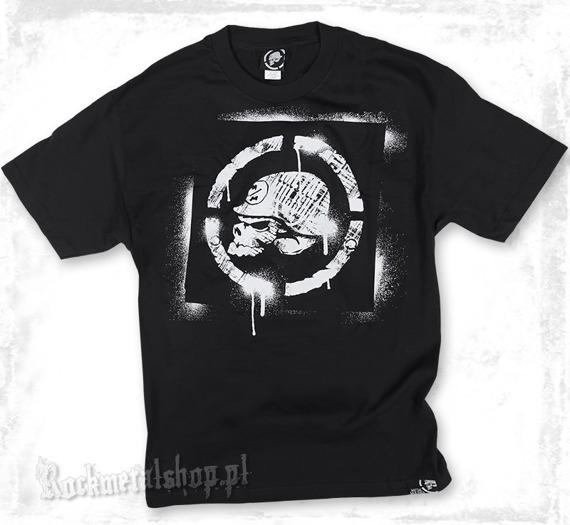 koszulka METAL MULISHA - SPRAYED czarna