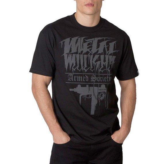 koszulka METAL MULISHA - UZI czarna