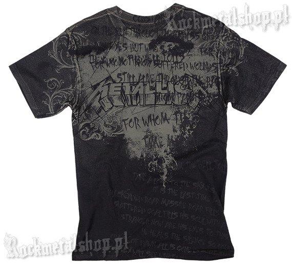 koszulka METALLICA - LIGHTNING CHAIR
