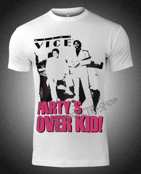 koszulka MIAMI VICE - PARTY'S OVER KID