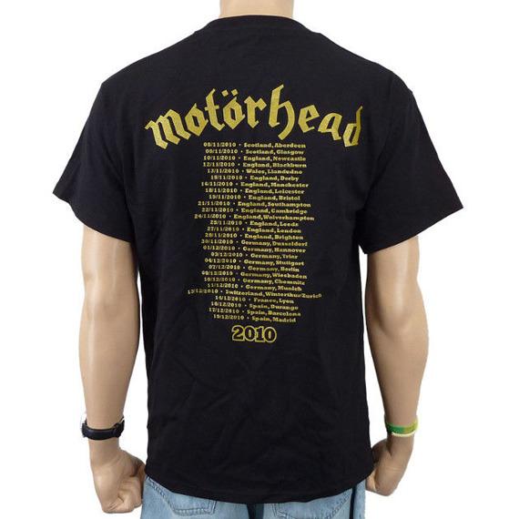 koszulka MOTORHEAD - CLASSIC GOLD ENGLAND