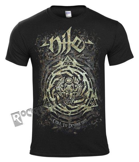 koszulka NILE - CALL TO DESTRUCTION