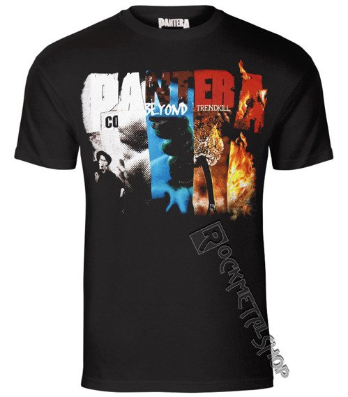koszulka PANTERA - ALBUM COLLAGE