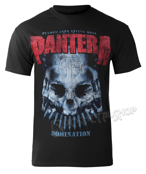 koszulka PANTERA - DOMINATION DISTRESSED