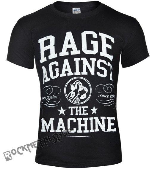 koszulka RAGE AGAINST THE MACHINE - CROWN COLLEGE