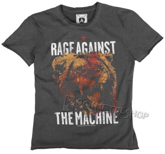 koszulka RAGE AGAINST THE MACHINE szara