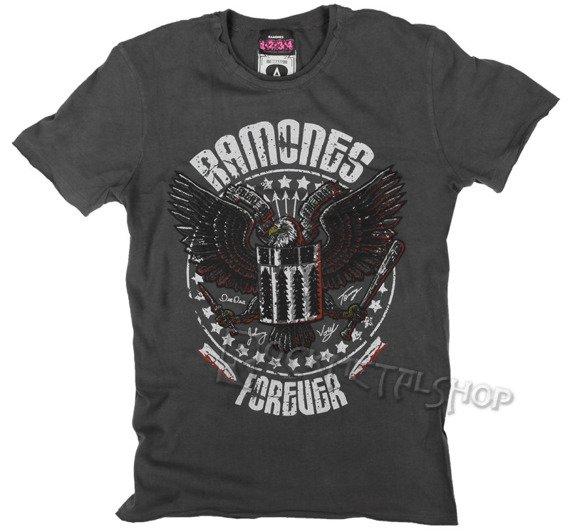 koszulka RAMONES - FOREVER szara