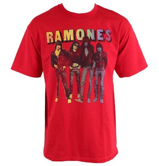 koszulka RAMONES - SPLIT FOUNTAIN GROUP