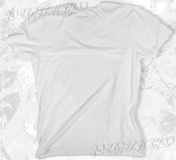 koszulka ROLLING STONES - ENGLAND DIAMANTE biała