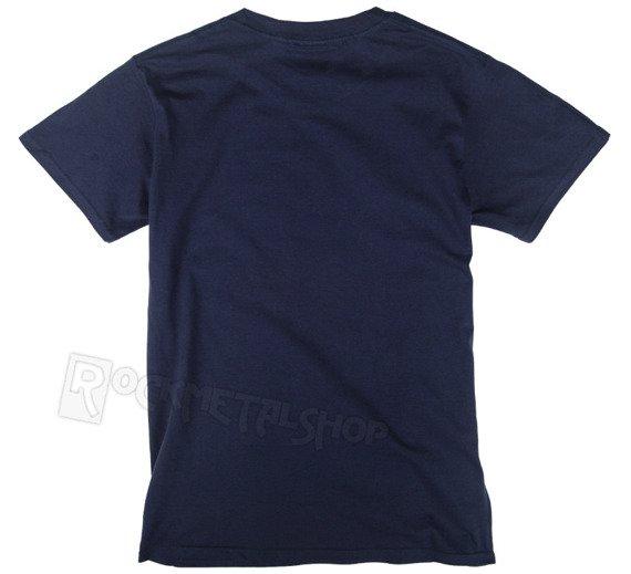 koszulka ROLLING STONES - TONGUE & STARS granatowa