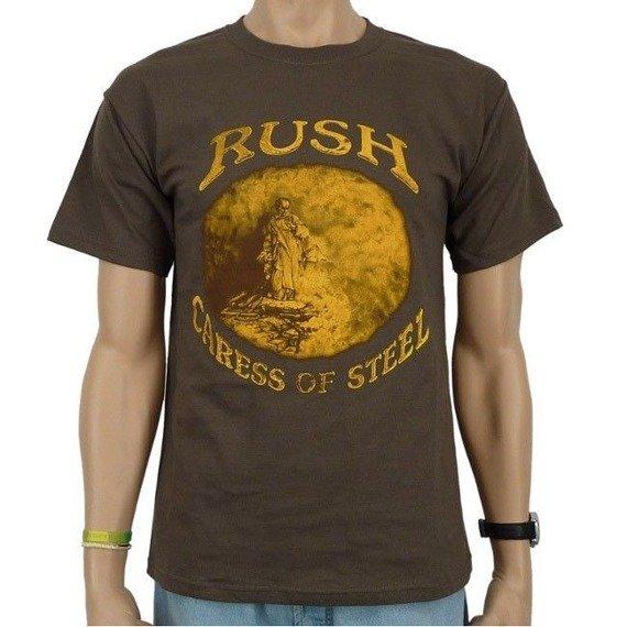koszulka RUSH - CARESS OF STEEL