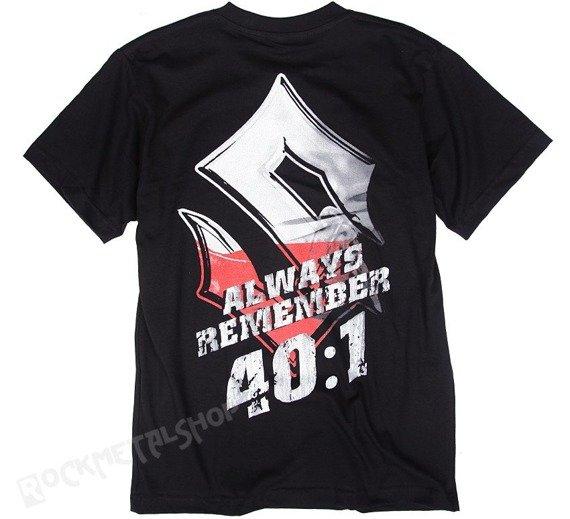 koszulka SABATON - 40:1 ALWAYS REMEMBER