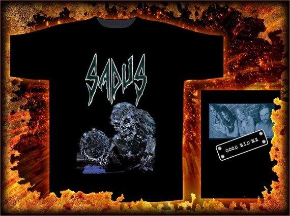 koszulka SADUS - SWALLOWED IN BLACK