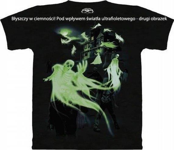 koszulka SCULBONE - ZOMBIES GHOTS, barwiona