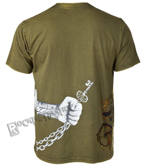koszulka SHIROI NEKO - STAY POSITIVE (GREEN)