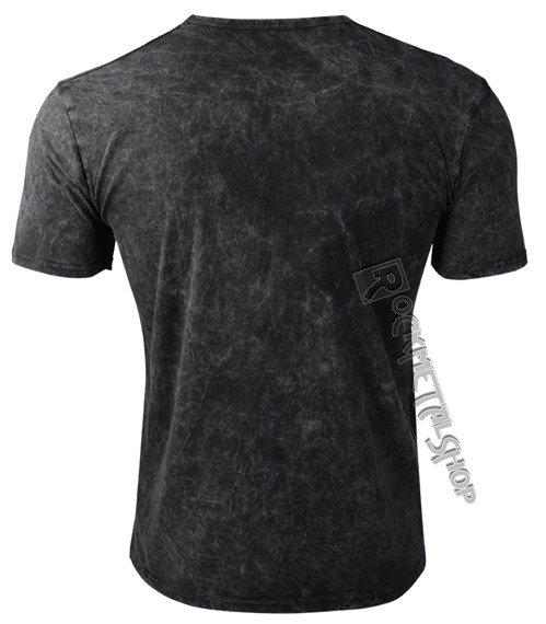 koszulka SLAYER - HI CONTRAST EAGLE, barwiona