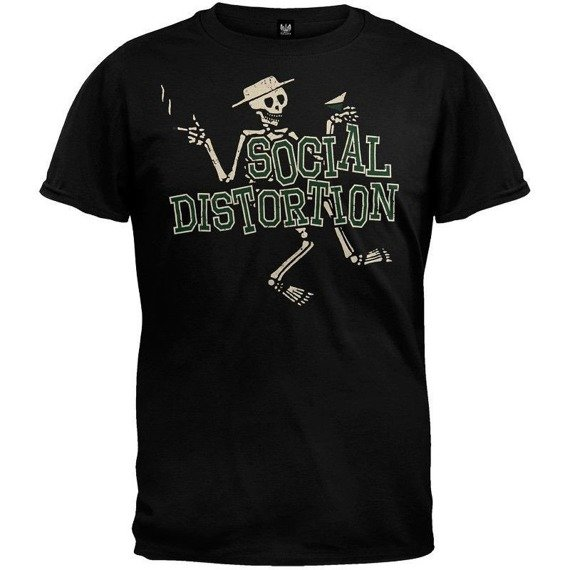 koszulka SOCIAL DISTORTION - LETTERMAN