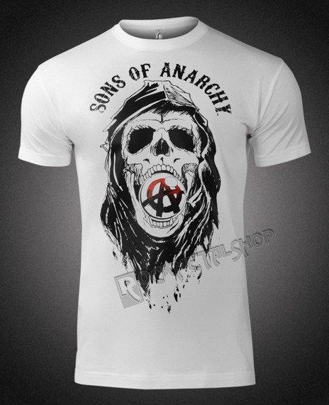 koszulka SONS OF ANARCHY - DRAFT SKULL