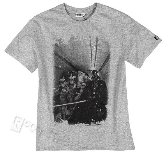 koszulka STAR WARS - GANG VADER szary melanż