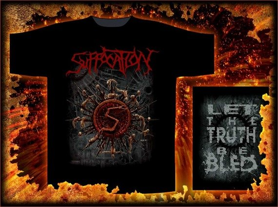 koszulka  SUFFOCATION - LET THE TRUTH BE BLED