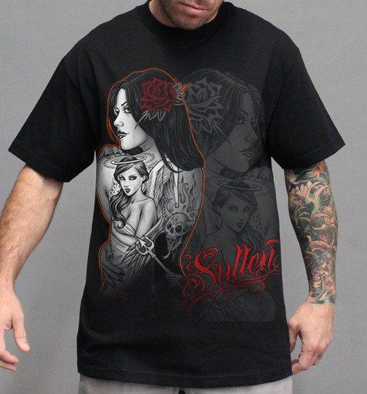 koszulka SULLEN - GOOD VS EVIL czarna