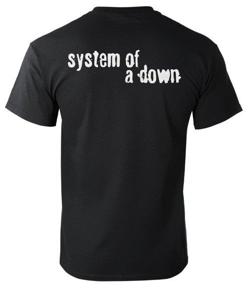 koszulka SYSTEM OF A DOWN - CLOCK
