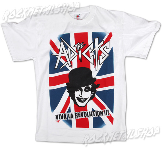 koszulka THE ADICTS - VIVA LA REVOLUTION