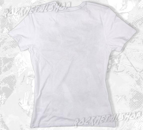 koszulka THE CURE - BOYS DON'T CRY biała