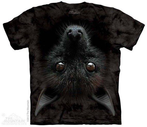 koszulka THE MOUNTAIN - BAT HEAD, barwiona