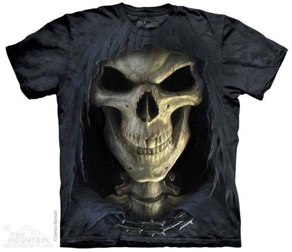 koszulka THE MOUNTAIN - BIG FACE DEATH, barwiona
