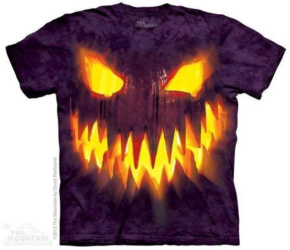 koszulka THE MOUNTAIN - BIG FACE JACK, barwiona